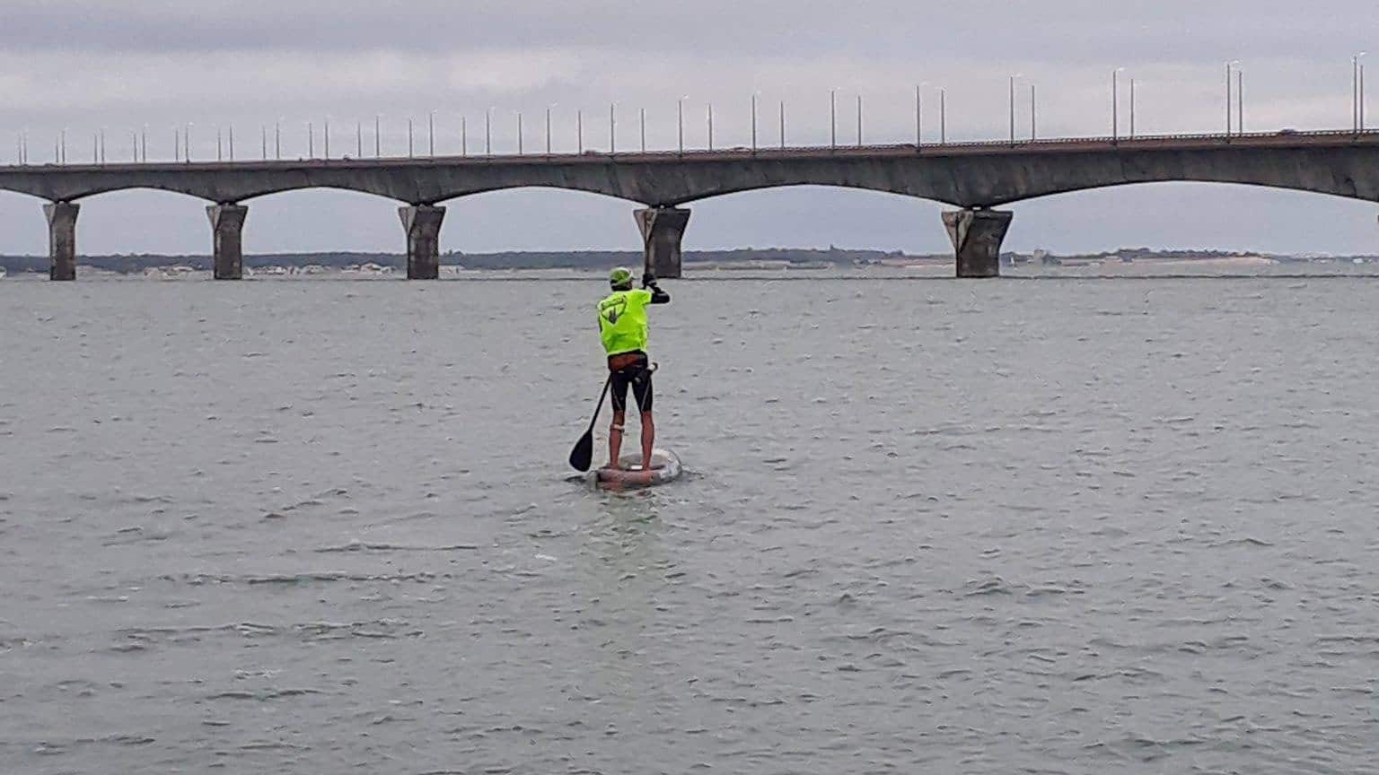 Record du tour de l'Ile de Ré en stand up paddle