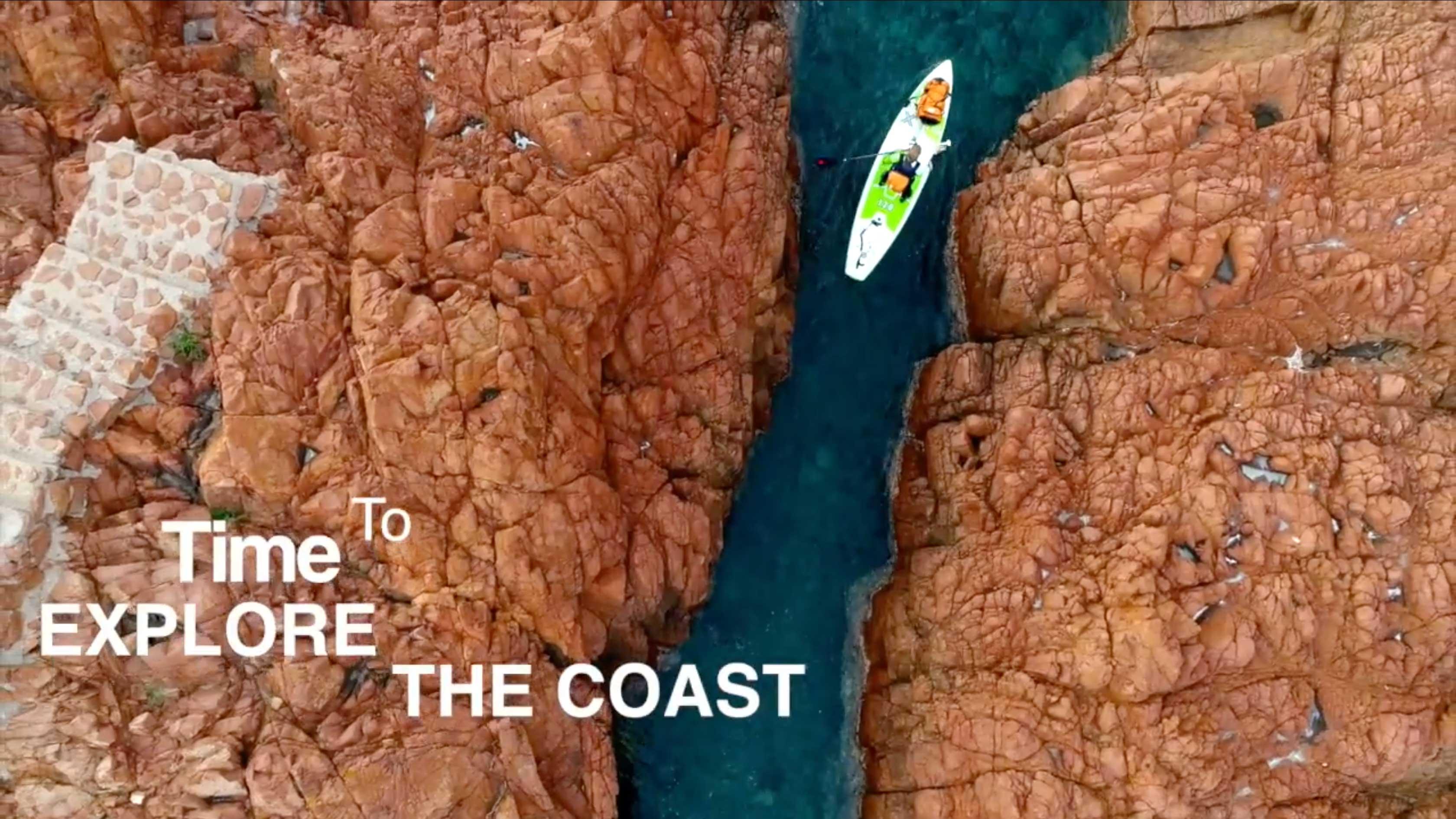 De belles images de l'Ile d'or en stand up paddle