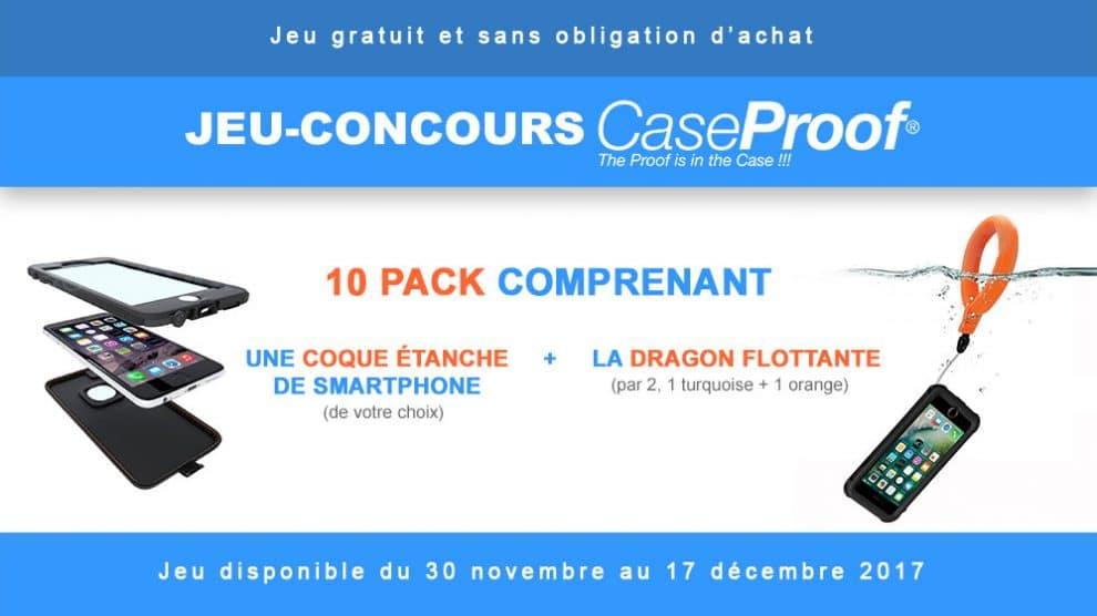 Gagnez 1 coque de smartphone Caseproof et sa dragonne