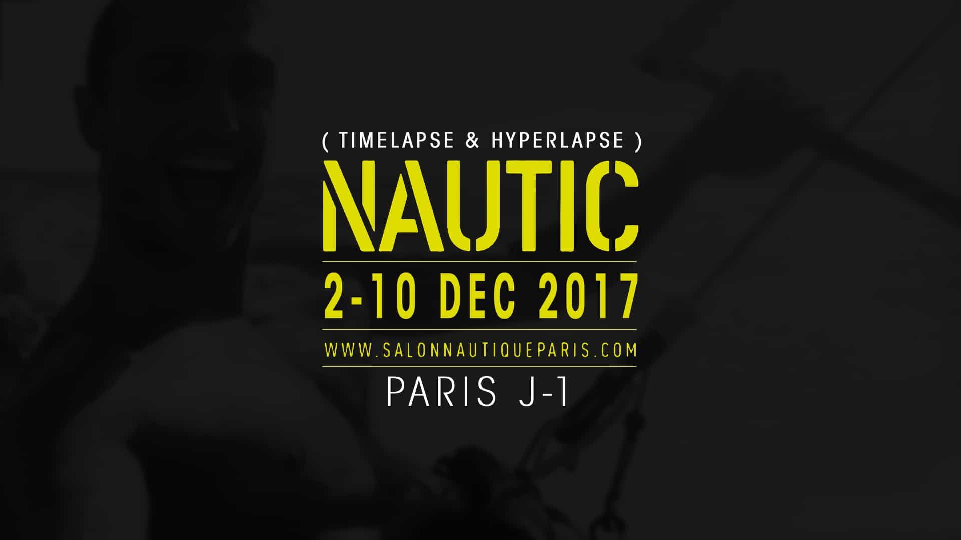 Vidéo J-1 avant l'ouverture de Salon Nautique de Paris 2017