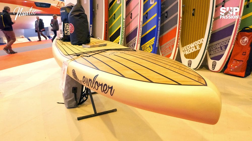Interview 360° au stand RedwoodPaddle du Nautic 2017