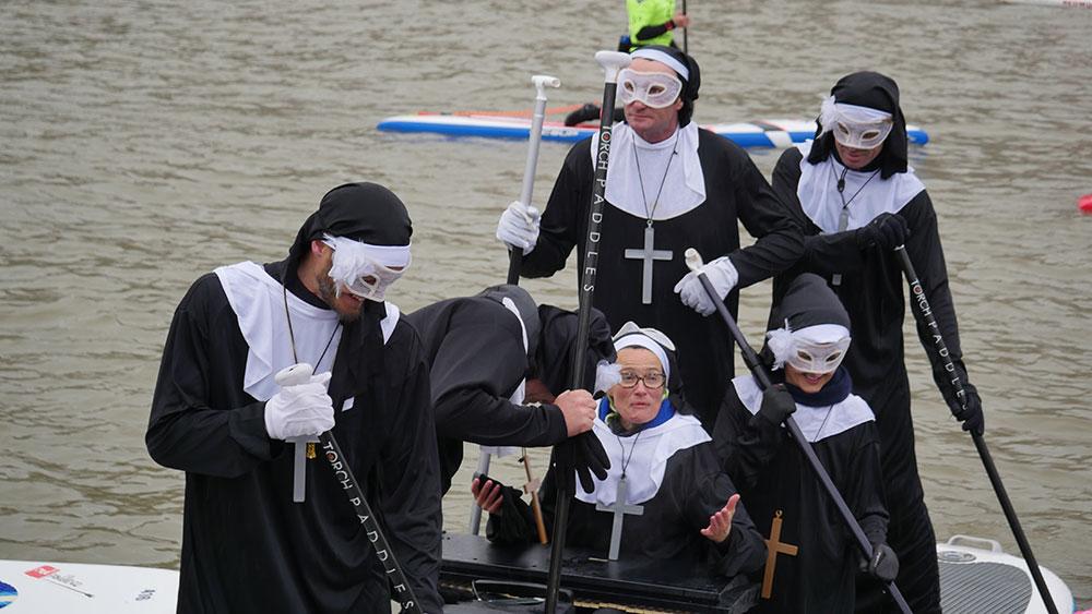 Record battu, 700 participant au Nautic Sup Paris Crossing 2017