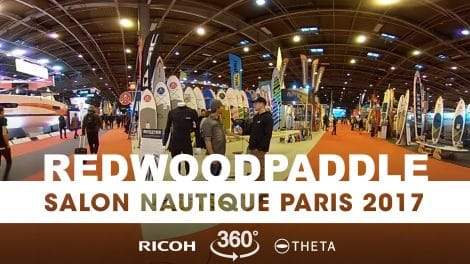 Interview 360° au stand RedwoodPaddle du Nautic 2017