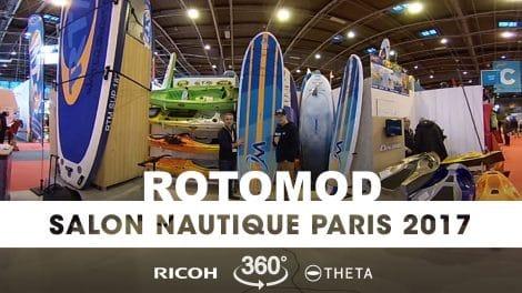 Interview 360° au stand Rotomod du Nautic 2017