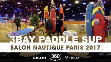 Interview exclusive 360° de Patrice Remoiville de 3Bay Paddle Sup