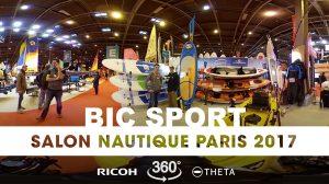 Interview 360° au stand Bic Sport du Nautic 2017