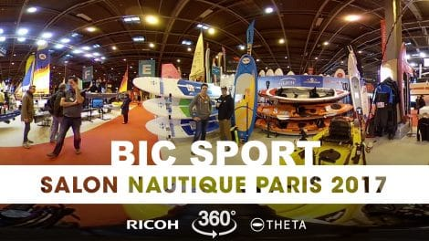 Interview 360° au stand Bic Sport du Nautic 2017