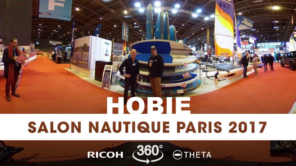 Interview 360° au stand Hobie du Nautic 2017