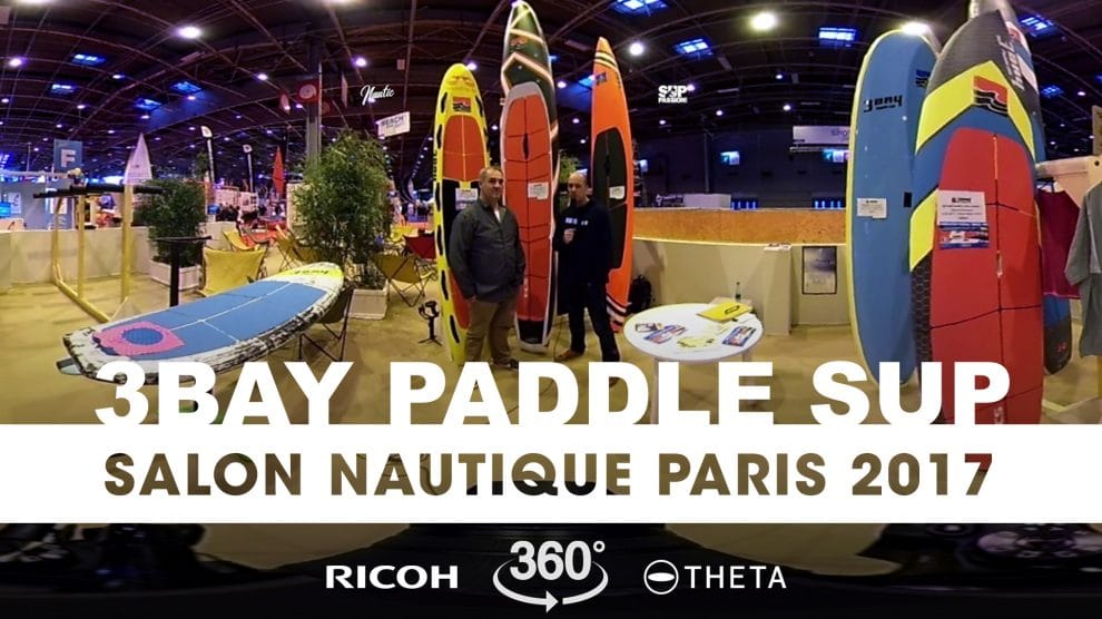 Interview exclusive 360° de Patrice Remoiville de 3Bay Paddle Sup
