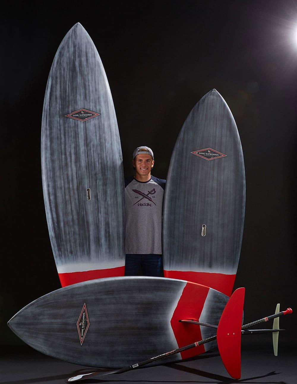 Moritz Mauch intègre le Team Gong Surfboards pour 2018