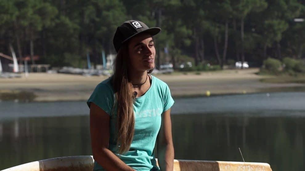 Vidéo portrait de la championne de stand up paddle race, Olivia Piana