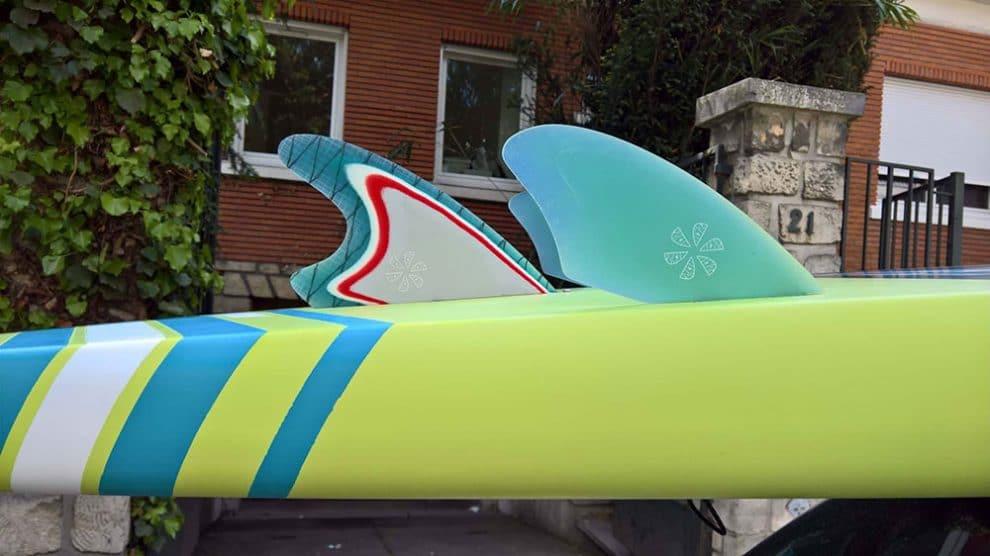 Tout savoir sur les ailerons ou dérives de stand up paddle