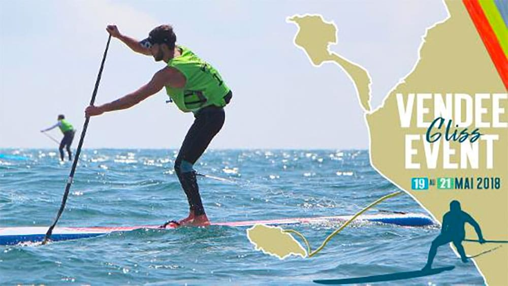 Vendée Gliss Event 2018, épreuve de l'Eurotour stand up paddle en France
