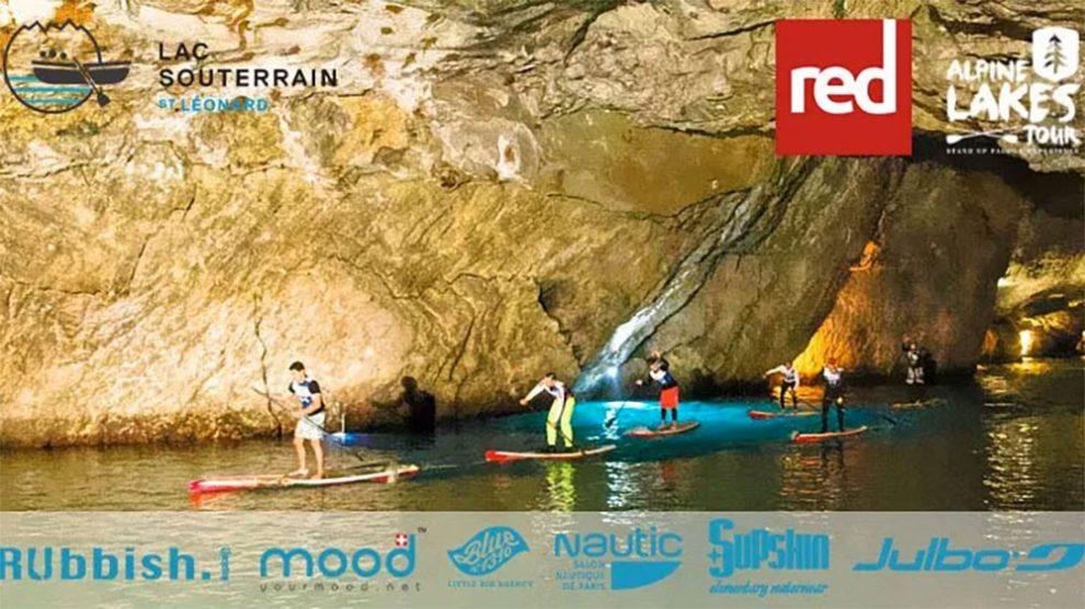 La Bat Race, course de stand up paddle sous terre !