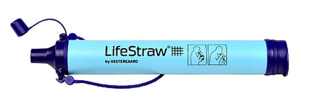 Boire n'importe quelle eau n'importe où, c'est la promesse de Lifestraw