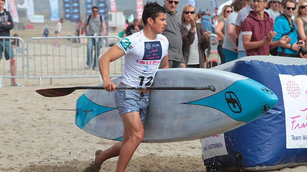 Compétition de stand up paddle au Mondial du Vent 2018