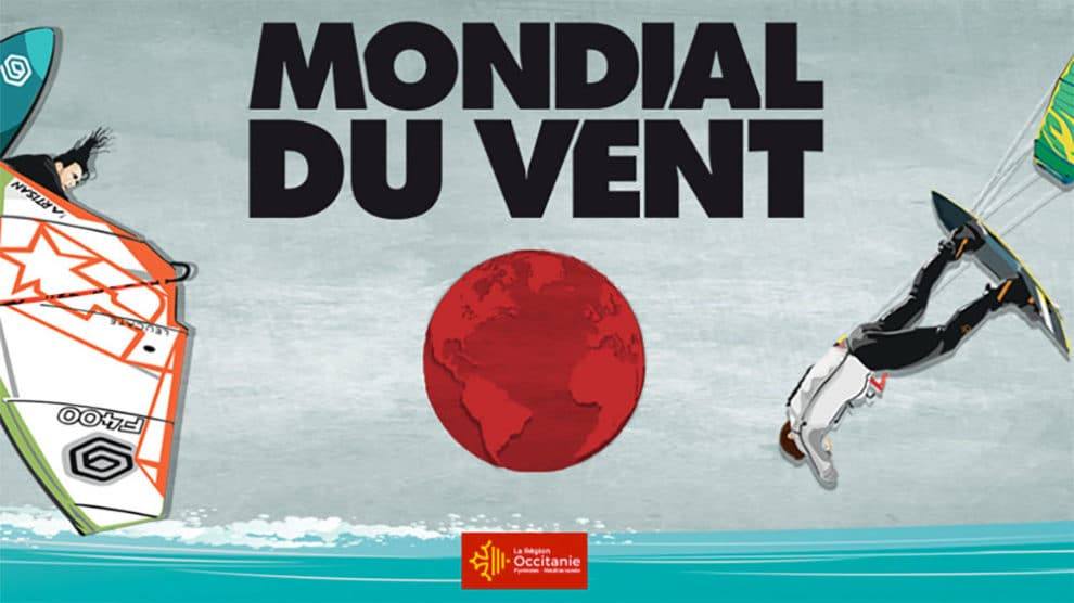 Compétition de stand up paddle au Mondial du Vent 2018