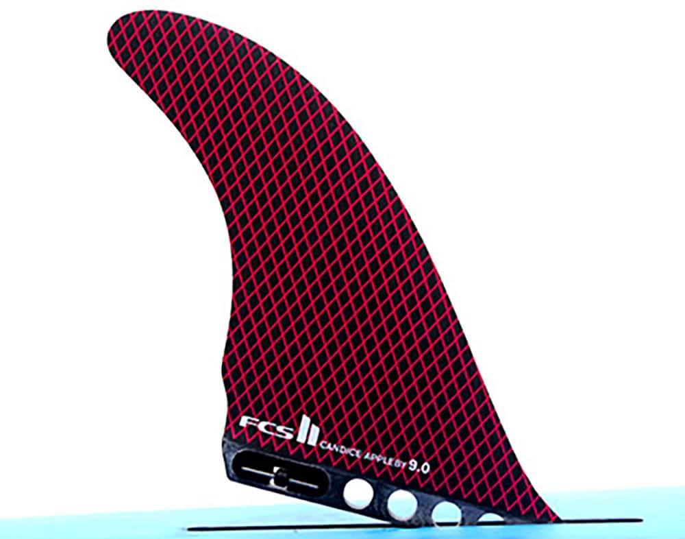 Découvrez l'aileron FCS automatique stand up paddle de Candice Appleby 9'