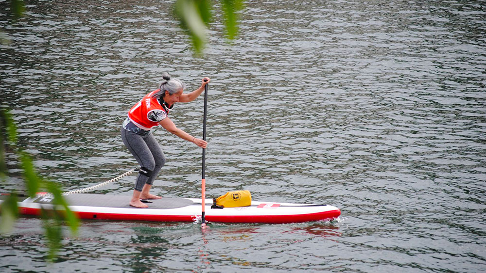 L'eau Vive, rencontre et course de stand up paddle aux portes de Paris