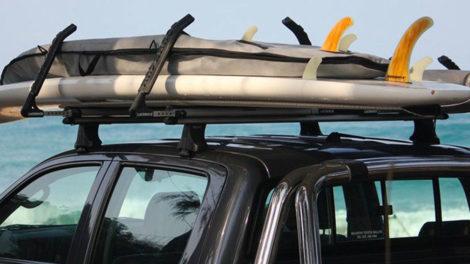 LockRack, le système de transport de vos stand up paddle sur votre voiture