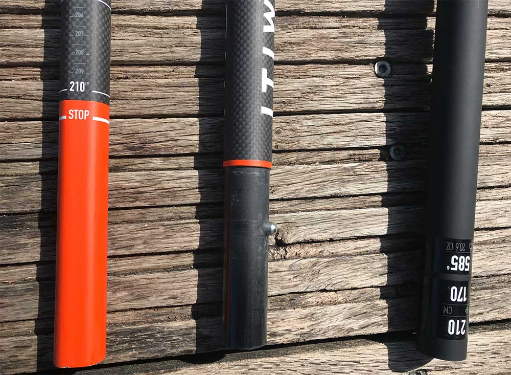 Pagaie stand up paddle 900, 60% carbone démontable et réglable Itiwit