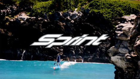 Stand up paddle Starboard Sprint 2018 14x25 carbon sandwich