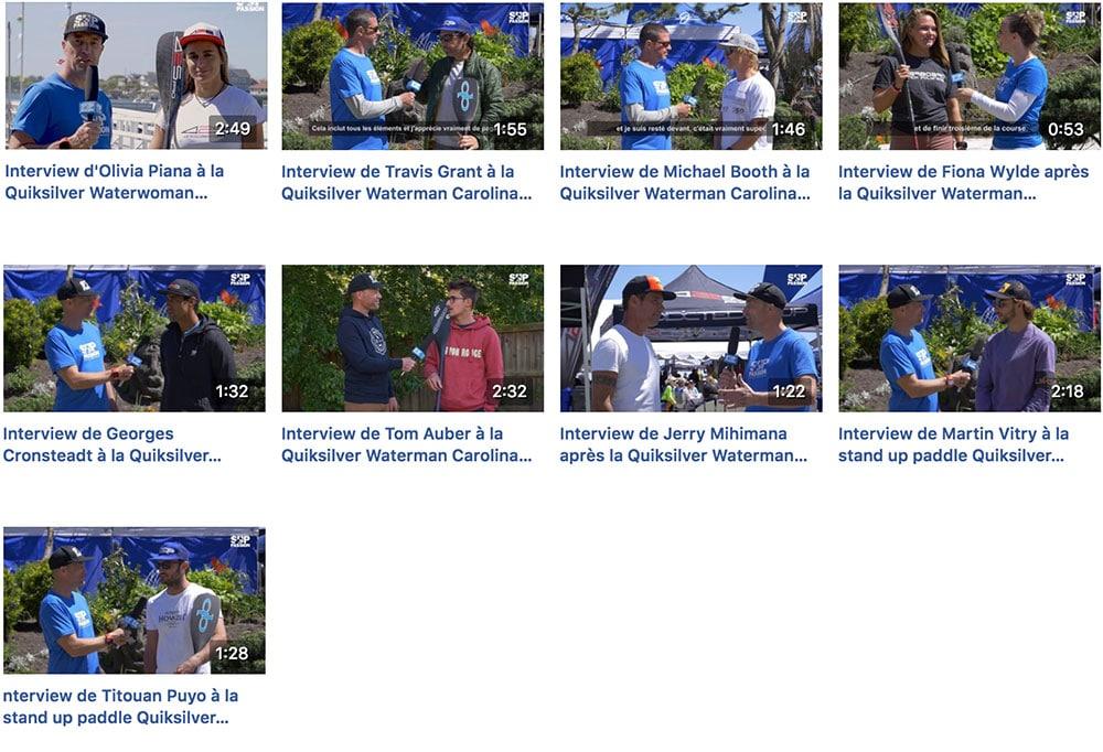 Vidéos Facebook Sup Passion Carolina Cup