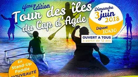 4ème édition du Tour des îles du Cap d'Agde