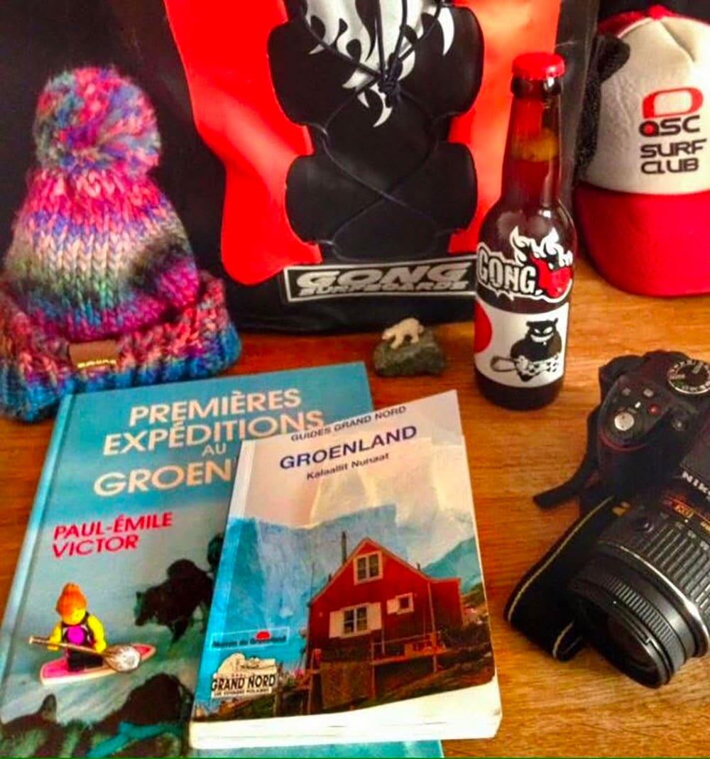 Préparation pour le sup trip au Groenland d'Ingrid Ulrich
