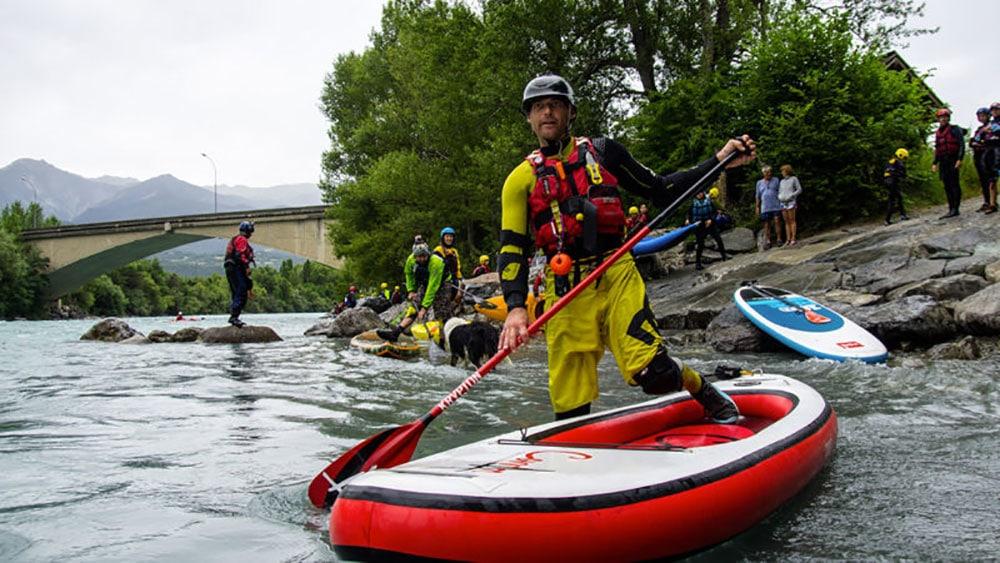 La Durance intégrale en stand up paddle le 8 juillet 2018