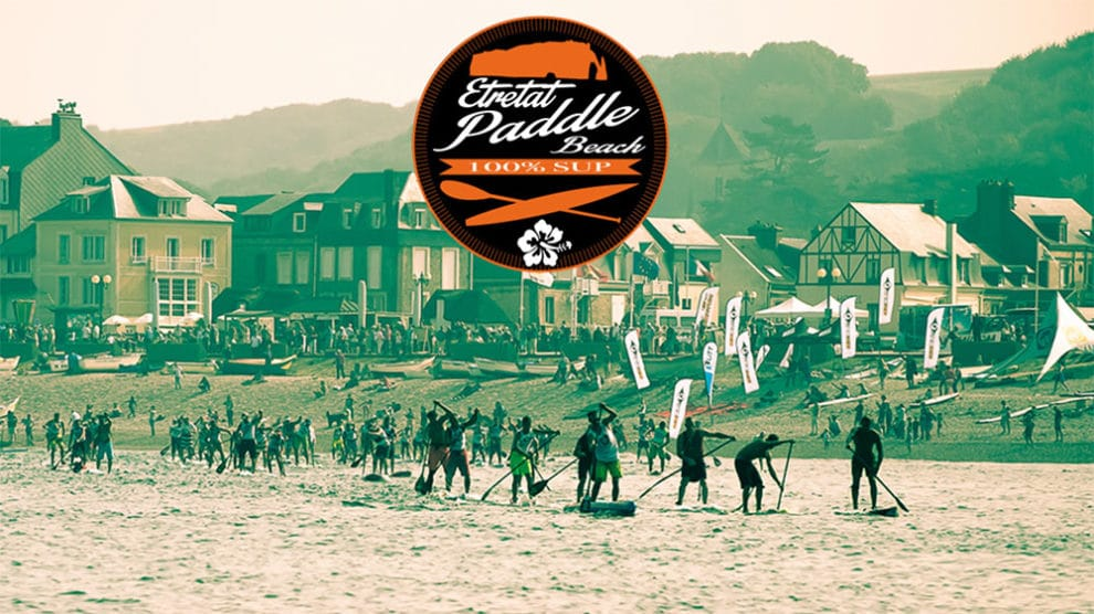 Sup Race Etretat Paddle Beach le 24 juin 2018 en Normandie