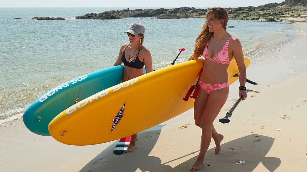 Stand up paddle Gong Sup Couine Marie gonflable 2018