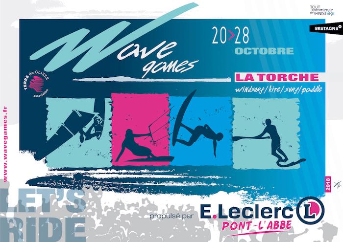 Du Sup Surf aux Wave Games de La Torche du 20 au 28 octobre 2018