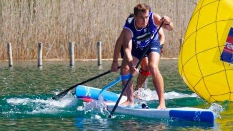 Coupe de France de Sup Race 12'6 2018 sur le Lac de Vassivière