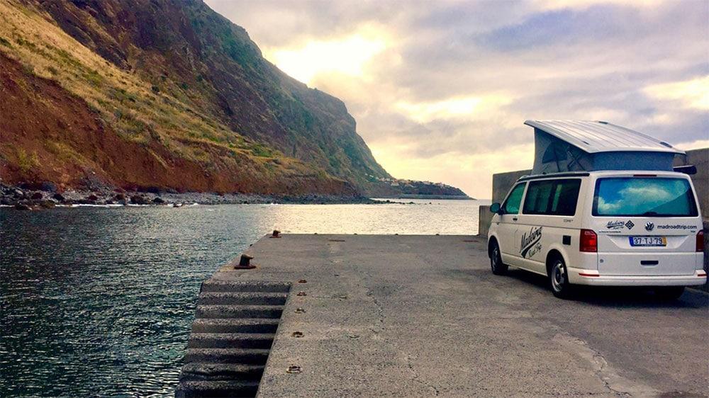 Madeira Road trip, louez un van tout équipé !