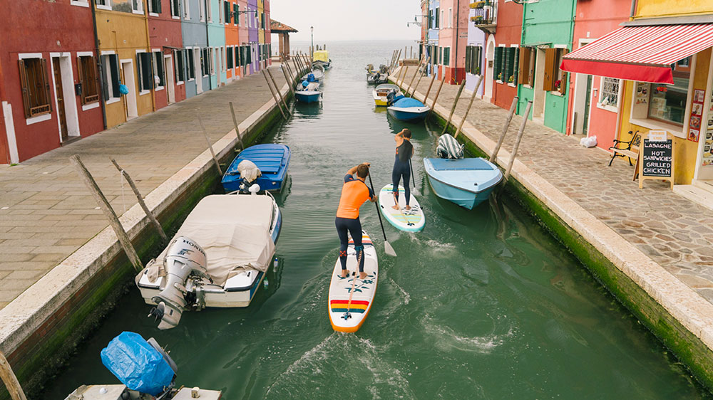 Vidéo stand up paddle SUPin' Venise Oxbow