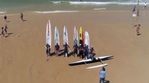 La Dune Paddle Crossing, 50km entre Lacanau et la Dune du Pilat