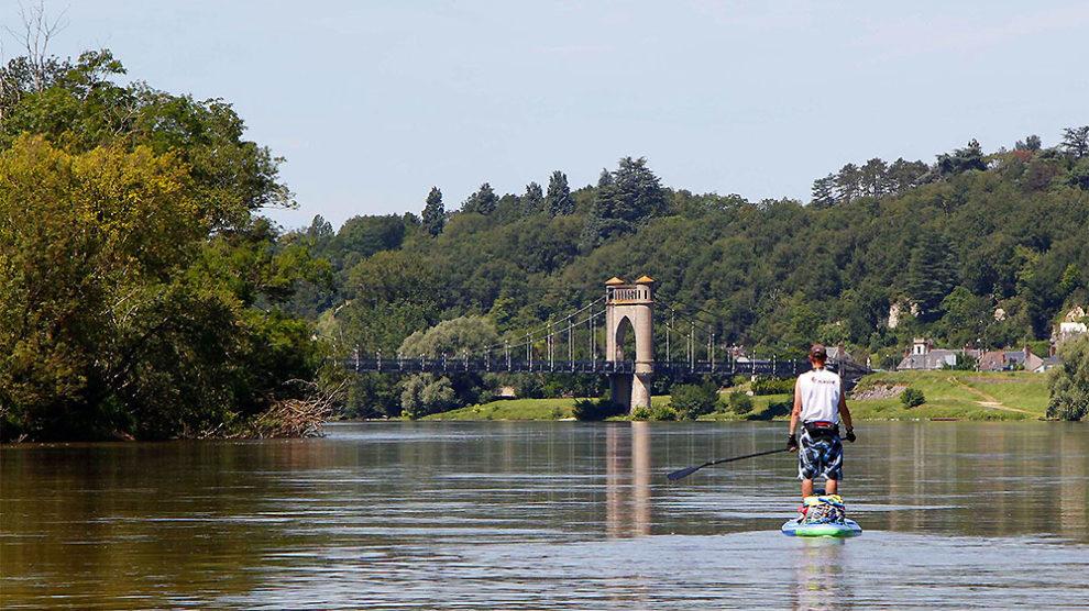 Stand up paddle expédition sur la Loire pour Watertrek