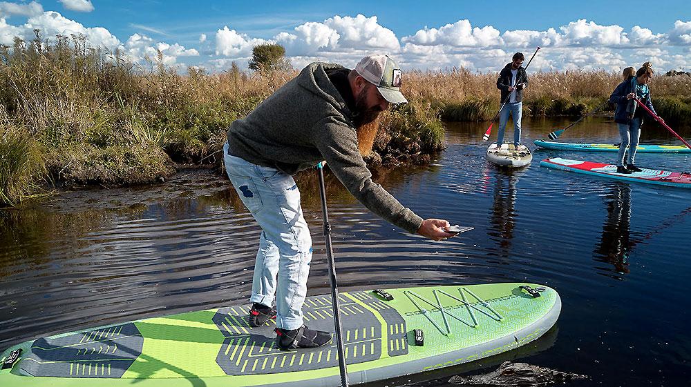 Découvrez la nouvelle gamme de stand up paddle gonflable de chez Gong Surfboards