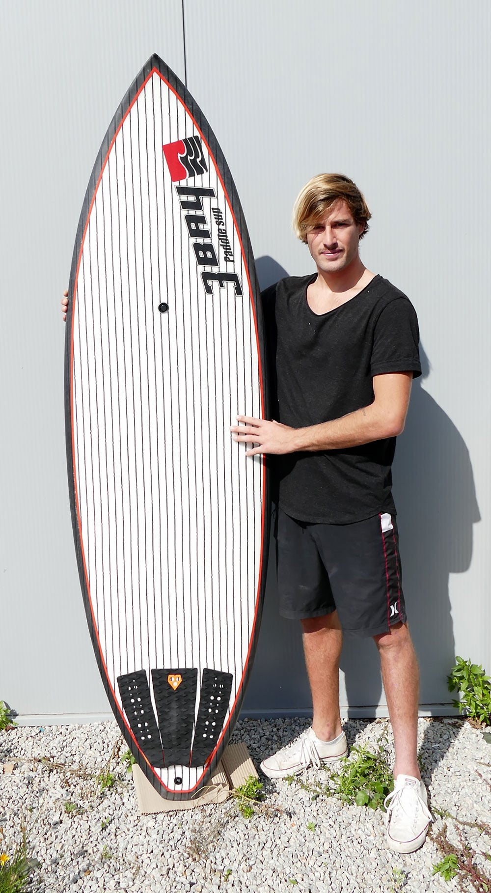Le champion de stand up paddle Arthur Daniel rejoint le team 3Bay