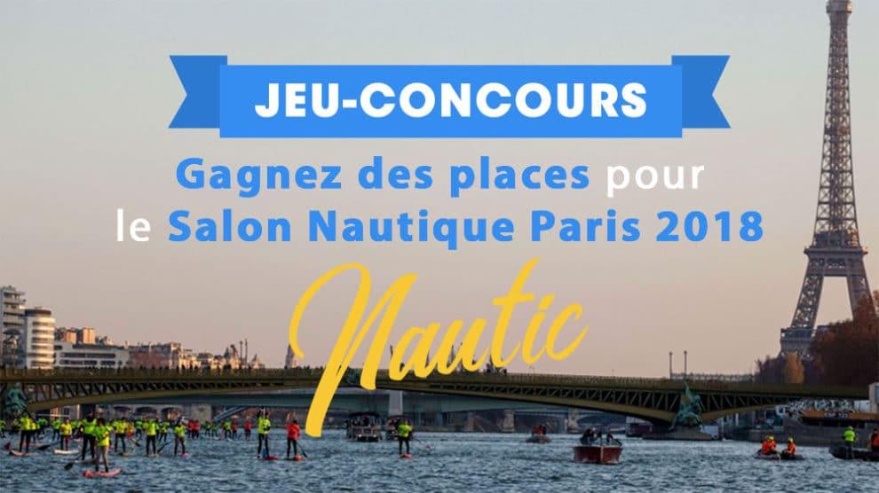Gagnez des entrées pour le Salon Nautique de Paris 2018