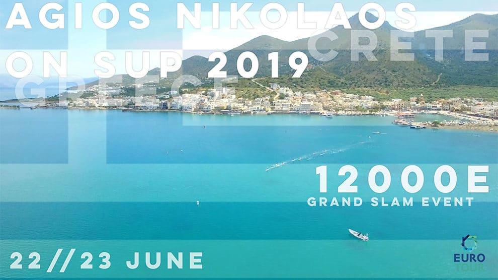 Euro Tour Sup Agios Nikolaos On Sup 2019