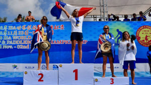 La France sur le podium des Mondiaux de stand up paddle en Chine