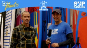 Interview de Fred au stand Surf Pistols du Salon Nautique Paris 2018