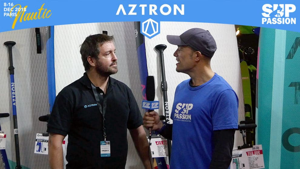Interview de Yann au stand Aztron au Salon Nautique Paris 2018