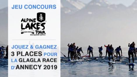 Jouez et gagnez 3 places pour participer à la GlaGla Race d'Annecy 2019