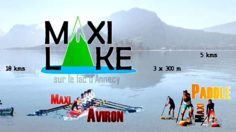 Course stand up paddle Maxi Lake 2019 Annecy