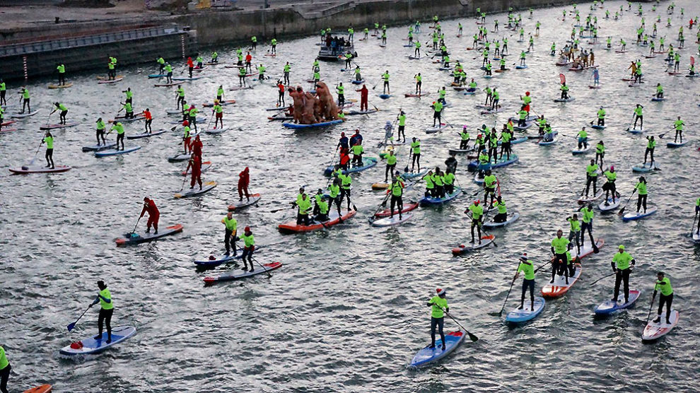 Record battu pour le Nautic Paddle de Paris 2018