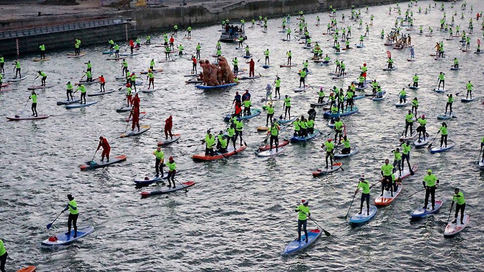 Record battu pour le Nautic Paddle de Paris 2018