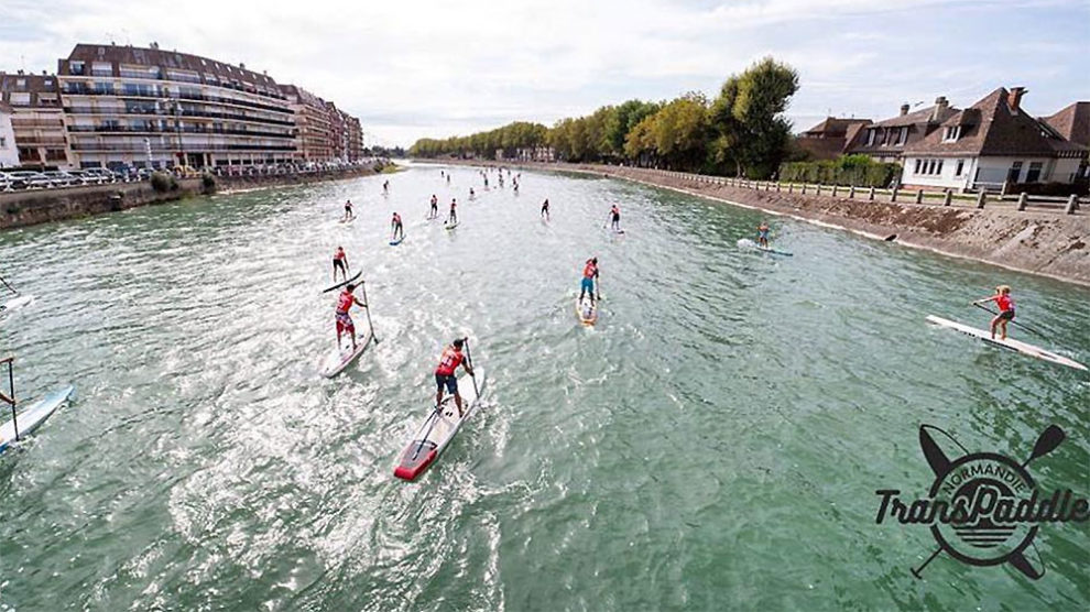 Course stand up paddle Normandie Transpaddle Caen 2019